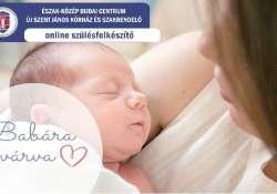 Folytatja a gyermeket váróknak indított online tanfolyamait a Szent János Kórház