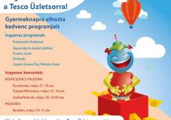 Gyermeknapi programok a TESCO Üzletsoron!