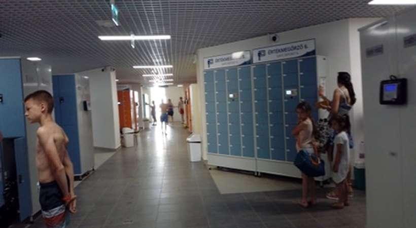Debrecen új strandja, az Aquaticum - kabinok